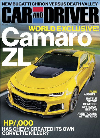 car and driver december 2016