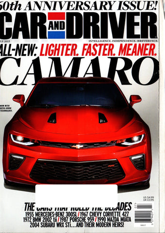 CAR AND DRIVER  JULY 2015