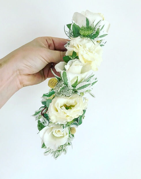 "Flower Crown fit for a ""Princess"""