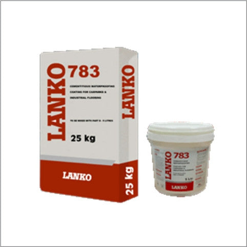 LANKO 783 Concrete Floor Topping Repair -A