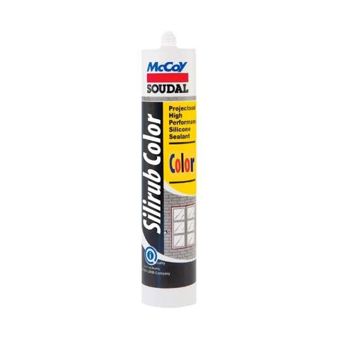 McCoy Soudal Silirub Color Light Grey