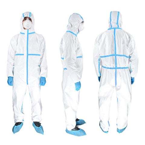 PPE Suit (Personal Protective Cover All) ( Pack of 5)