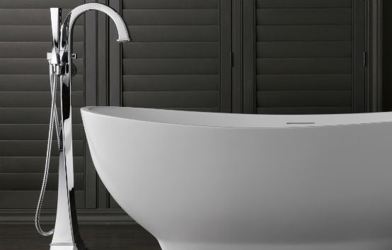freestanding tub with deck mount faucet. A Quick Note on Tub Faucets  Luxury Freestanding Tubs