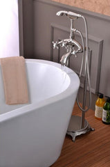 Anzzi Tugela Series Claw Foot Tub Faucet With Hand Shower