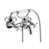 Axor Montreal Wall Mounted Tub Filler with Cross Handle