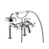 Axor Montreux Tub Filler Trim with Cross Handle