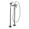 Axor Montreal Freestanding Tub Filler Trim with Cross Handle