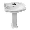 Barclay Stanford 600 Bathroom Sink 4 inch faucet