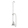 Barclay Products 4023-PL Tub/Shower Converto Unit – Handheld Shower, Riser for Cast Iron Tub