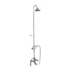 Barclay Products Tub/Shower Converto Unit – Elephant Spout with Handshower Polished Chrome in White Background