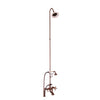 Barclay Products Tub/Shower Converto Unit – Elephant Spout with Handshower Oil Rubbed Bronze in White Background