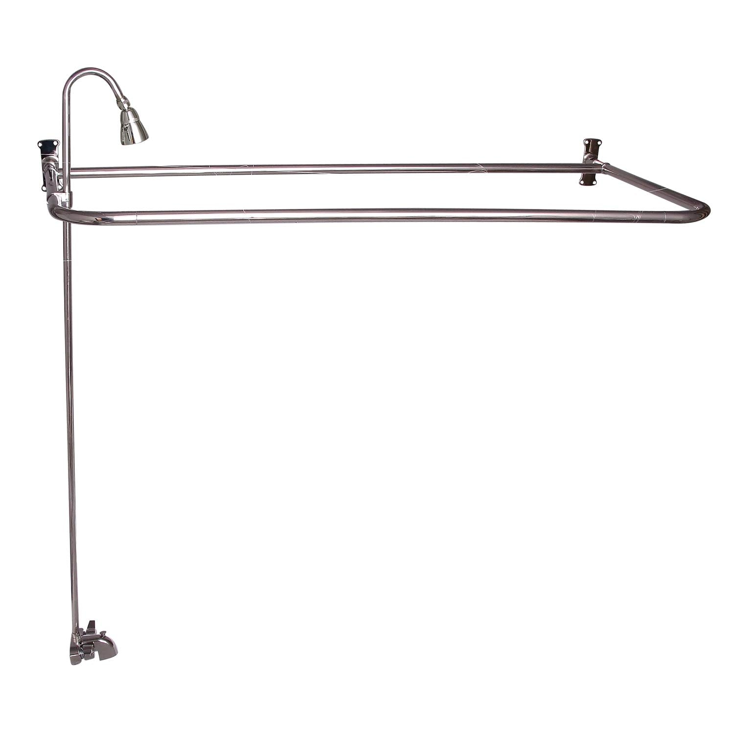 """Barclay Products 4193-60 Rectangular """"D"""" Shower Unit – 60″ x 26″"""