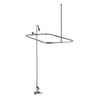 Barclay Products Tub/Shower Converto Unit – 54″ Rectangular Rod, Code Spout