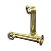 "Barclay 4503 6"" Elbows for Deck Mounting Pair - Polished Brass"