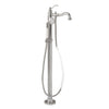 Barclay Products 7932 Lamar Freestanding Tub Filler in White Background