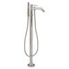 Barclay Products 7934-PC Madon Freestanding Tub Filler Polished Chrome in White Background