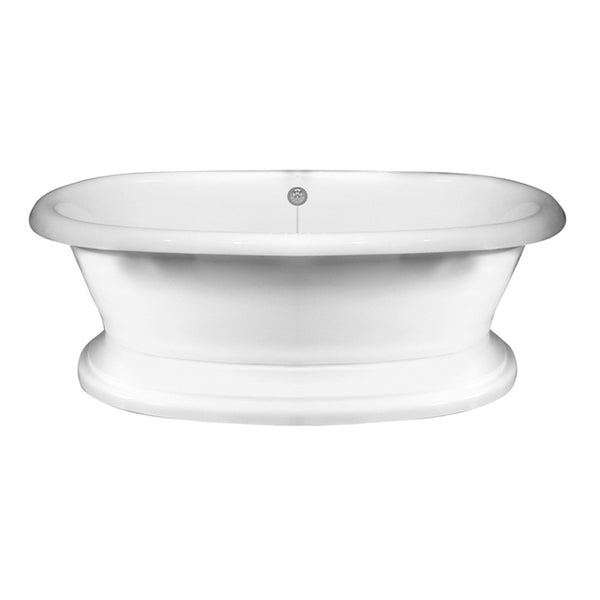 barclay products cordoba acrylic dbl roll wh affordable cheap clawfoot bathtubs tub