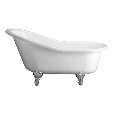 Barclay Estelle ATS60-BQ-PB Premium Acrylic Slipper Freestanding Tub