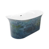 A & E Bath and Shower Cyclone 100% Acrylic Freestanding Tub