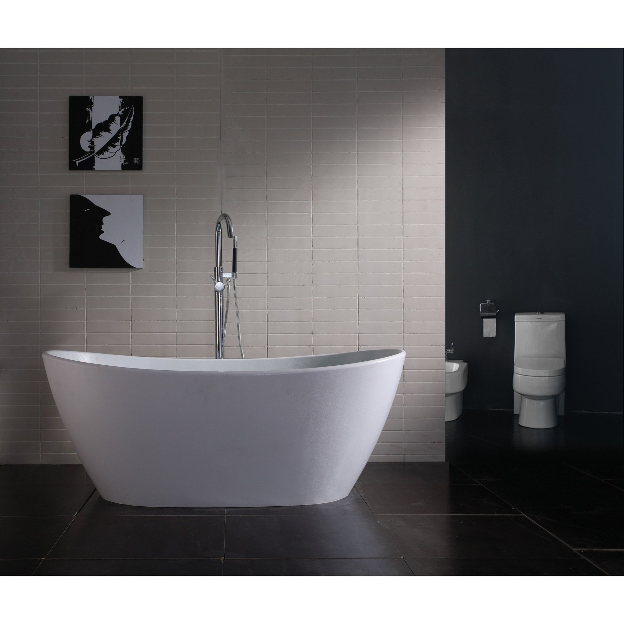"Control Brand True Solid Surface Soaking Tub - ""Harmony"" - Luxury ..."