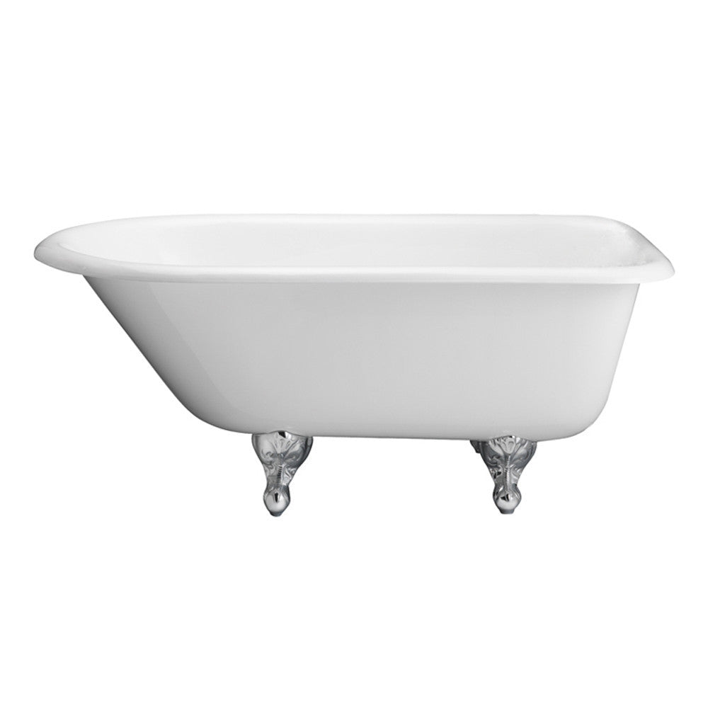 Barclay Beecher Premium Cast Iron Roll Top Clawfoot Freestanding Tub ...