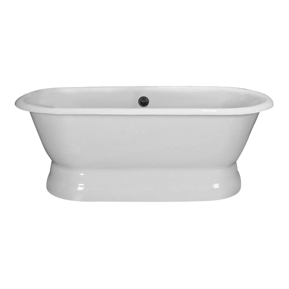 Barclay Cromwell Cast Iron Double Roll Freestanding Tub - Luxury ...