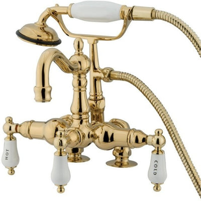 "Kingston Brass CC1017T Vintage 3-3/8"" Wall Mount Tub Filler - Affordable Cheap Freestanding Clawfoot Bathtubs Tub"