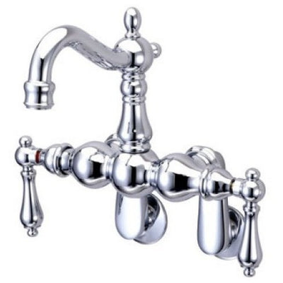 Kingston Brass CC1081T Vintage Wall Mount Tub Filler with Adjustable Centers - Affordable Cheap Freestanding Clawfoot Bathtubs Tub