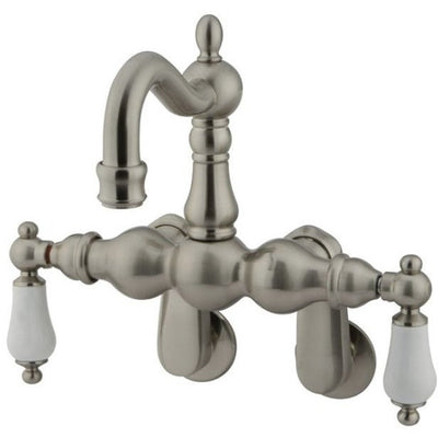Kingston Brass CC1083T Vintage Wall Mount Tub Filler with Adjustable Centers - Affordable Cheap Freestanding Clawfoot Bathtubs Tub
