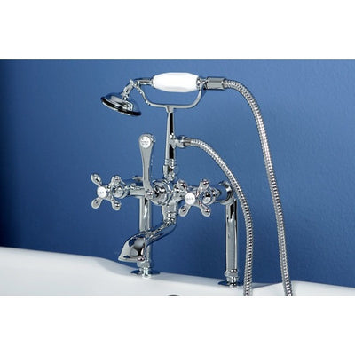 "Kingston Brass CC109T Vintage 7"" Deck Mount Tub Filler - Affordable Cheap Freestanding Clawfoot Bathtubs Tub"
