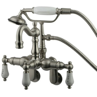 Kingston Brass CC1303T Vintage Wall Mount Tub Filler with Adjustable Centers - Affordable Cheap Freestanding Clawfoot Bathtubs Tub