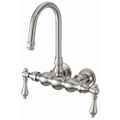 "Kingston Brass CC1T Vintage 3-3/8"" Wall Mount Tub Filler - Affordable Cheap Freestanding Clawfoot Bathtubs Tub"