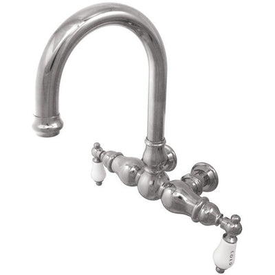 "Kingston Brass CC3003T Vintage 3-3/8"" Wall Mount Tub Filler - Affordable Cheap Freestanding Clawfoot Bathtubs Tub"
