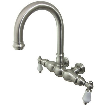 "Kingston Brass CC3005T Vintage 3-3/8"" Wall Mount Tub Filler - Affordable Cheap Freestanding Clawfoot Bathtubs Tub"