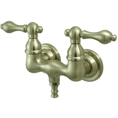 "Kingston Brass CC31T Vintage 3-3/8"" Wall Mount Tub Filler - Affordable Cheap Freestanding Clawfoot Bathtubs Tub"