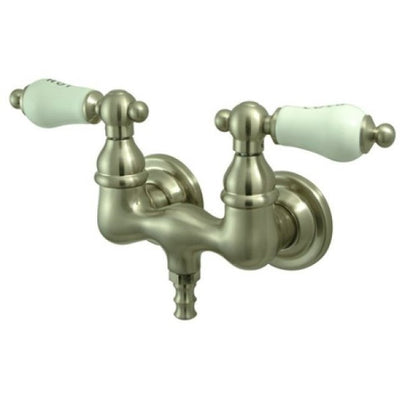 "Kingston Brass CC33T Vintage 3-3/8"" Wall Mount Tub Filler - Affordable Cheap Freestanding Clawfoot Bathtubs Tub"