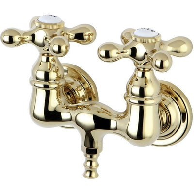 "Kingston Brass CC37T Vintage 3-3/8"" Wall Mount Tub Filler - Affordable Cheap Freestanding Clawfoot Bathtubs Tub"