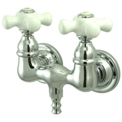 "Kingston Brass CC39T Vintage 3-3/8"" Wall Mount Tub Filler - Affordable Cheap Freestanding Clawfoot Bathtubs Tub"
