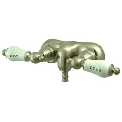 "Kingston Brass CC43T Vintage 3-3/8"" Wall Mount Tub Filler - Affordable Cheap Freestanding Clawfoot Bathtubs Tub"