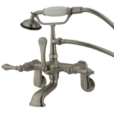 Kingston Brass CC51T Vintage Wall Mount Tub Filler with Adjustable Centers - Affordable Cheap Freestanding Clawfoot Bathtubs Tub