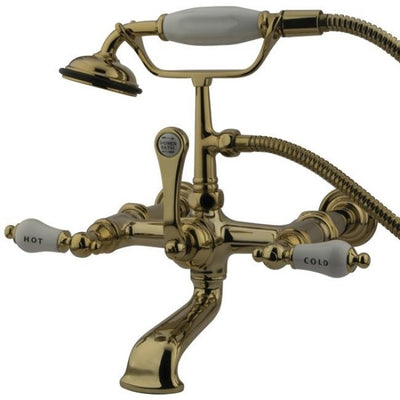 "Kingston Brass CC545T Vintage 7"" Wall Mount Tub Filler - Affordable Cheap Freestanding Clawfoot Bathtubs Tub"