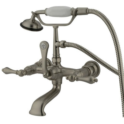 "Kingston Brass CC551T Vintage 7"" Wall Mount Tub Filler - Affordable Cheap Freestanding Clawfoot Bathtubs Tub"