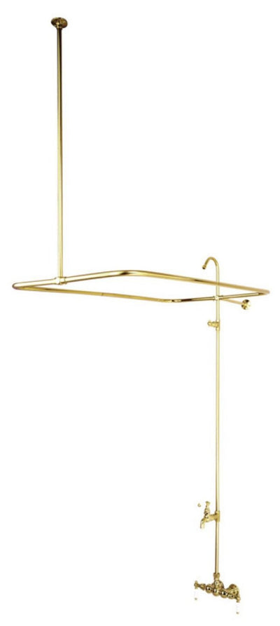 "Kingston Brass CC65T Vintage 3-3/8"" Wall Mount Tub Filler - Affordable Cheap Freestanding Clawfoot Bathtubs Tub"