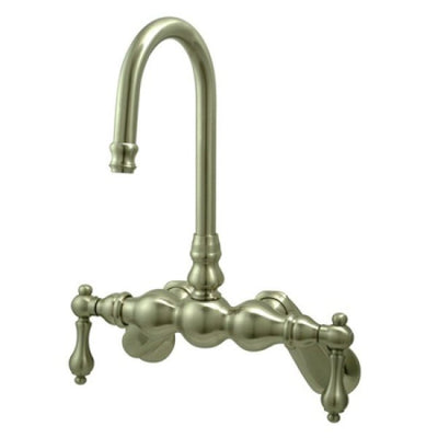 Kingston Brass CC81T Vintage Wall Mount Tub Filler with Adjustable Centers - Affordable Cheap Freestanding Clawfoot Bathtubs Tub