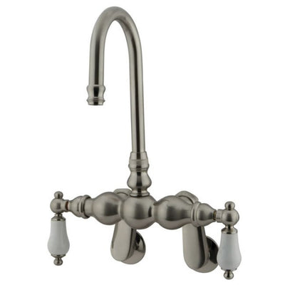 Kingston Brass CC83T Vintage Wall Mount Tub Filler with Adjustable Centers - Affordable Cheap Freestanding Clawfoot Bathtubs Tub
