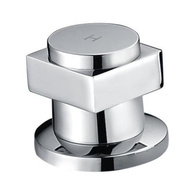 ANZZI Piedra Series FR-AZ042CH 3-Handle Deck-Mount Roman Tub Faucet