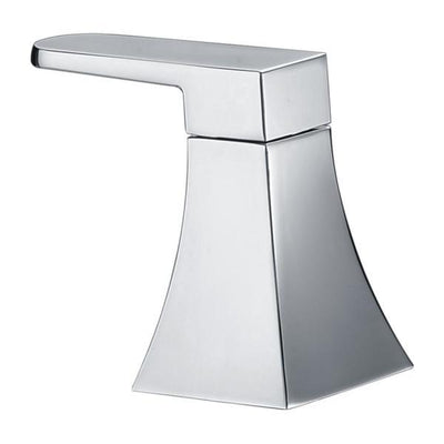ANZZI Cove Series FR-AZ174 2-Handle Deck-Mount Roman Tub Faucet with Handheld Sprayer in Polished Chrome
