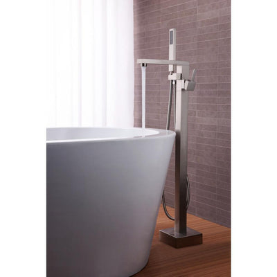 ANZZI Khone Series FS-AZ0037 2-Handle Claw Foot Tub Faucet with Hand Shower