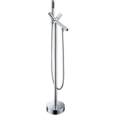 ANZZI Havasu Series FS-AZ0042 2-Handle Claw Foot Tub Faucet with Hand Shower