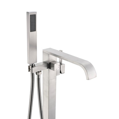 ANZZI Angel Series FS-AZ0044 2-Handle Claw Foot Tub Faucet with Hand Shower